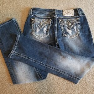 Designer Miss Me Jean's Size 29-31 OR A 9-10